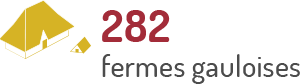 Nombre de fermes gauloises