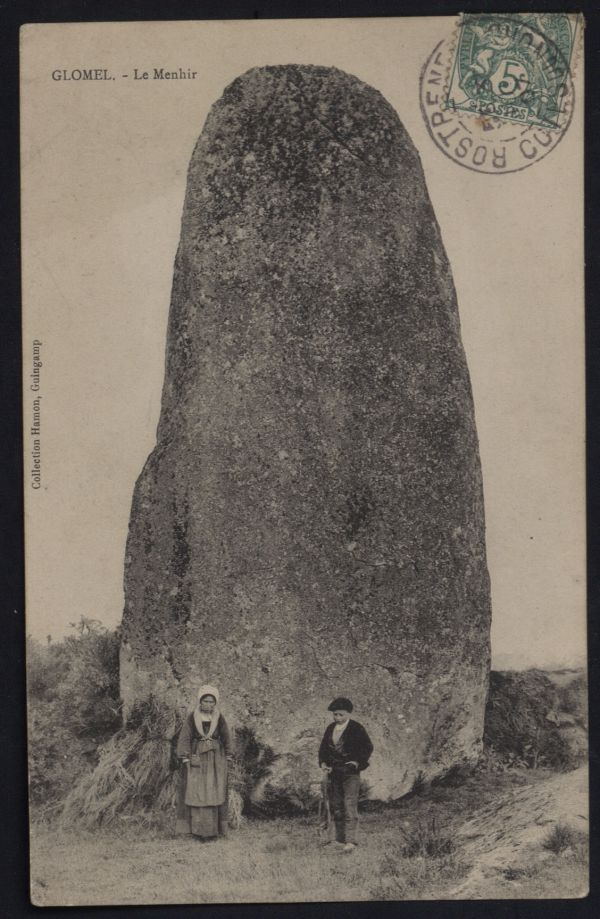 Menhir de Glomel
