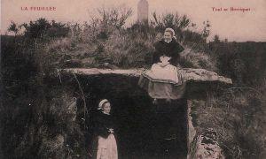 Carte postale ancienne Ty ar Boudiquet