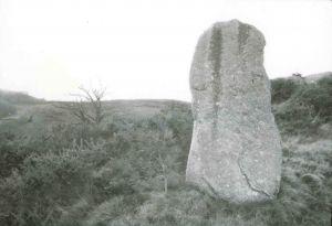 Menhir d'Hacadour, Mellionnec