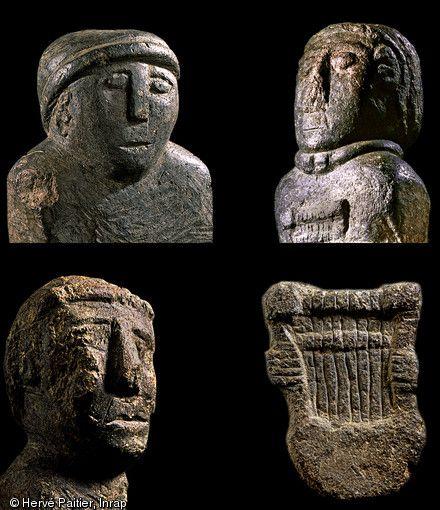 Saint-Symphorien, Statuettes, H. Paitier, 1997